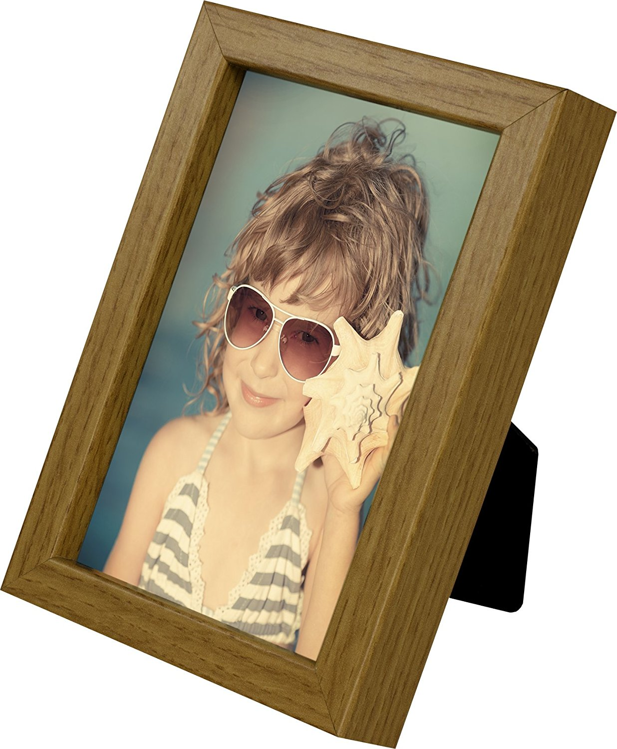 4 x 6-Inch Picture Photo Frame, OAK