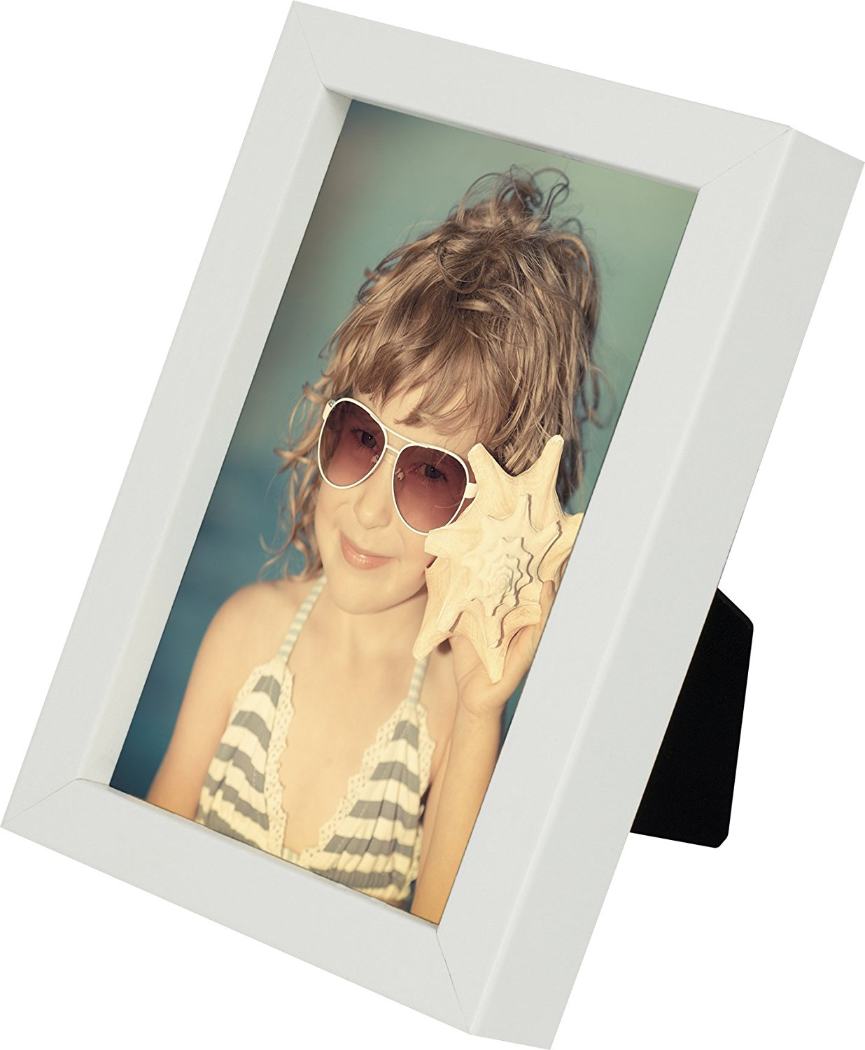4 x 6-Inch Picture Photo Frame - 2 Pack, WHITE