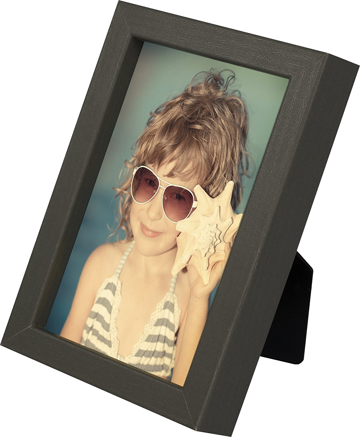 4 x 6-Inch Picture Photo Frame, GREY